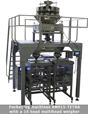 Packaging machine AM015-tetra