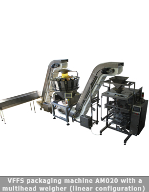Automatic packaging line for pastry