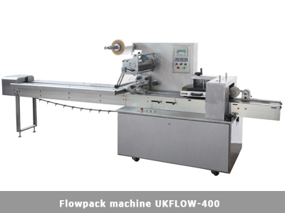Flowpack packaging machine